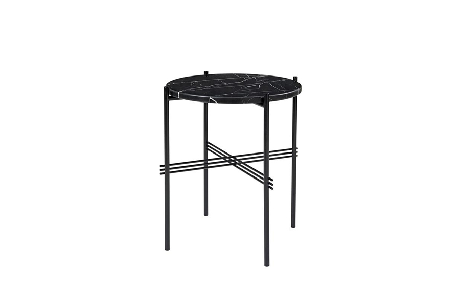 TS Table ∅40 Marble Black/Black