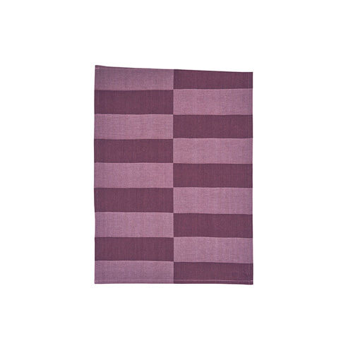 Tea Towel Block Purple