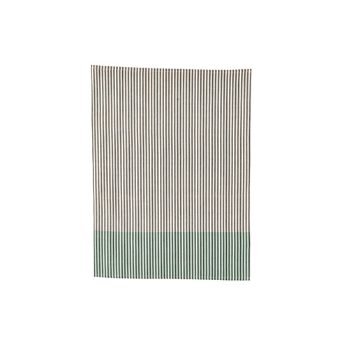 Tea Towel LineGreen Grey