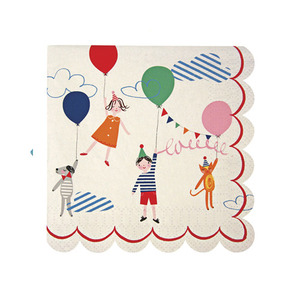 Party Napkins Toot Sweet Children Small