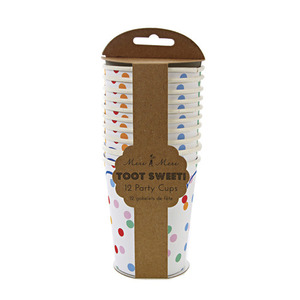 Party Cups Toot Sweet Spotty