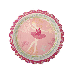Party Plates Little Dancers Small