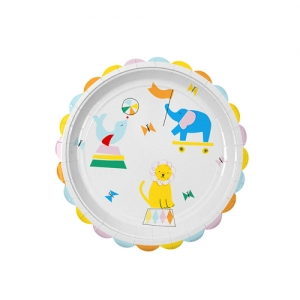 Party Plate Silly Circus Large*