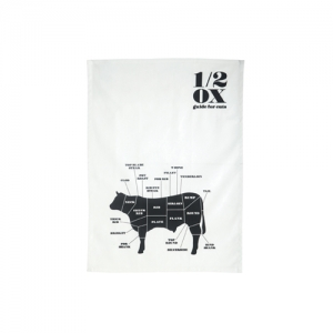 Tea towel 1/2 OX