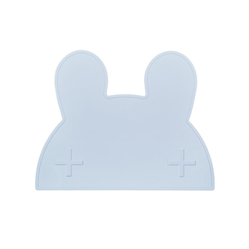 Sleepy Bunny Mat Powder Blue