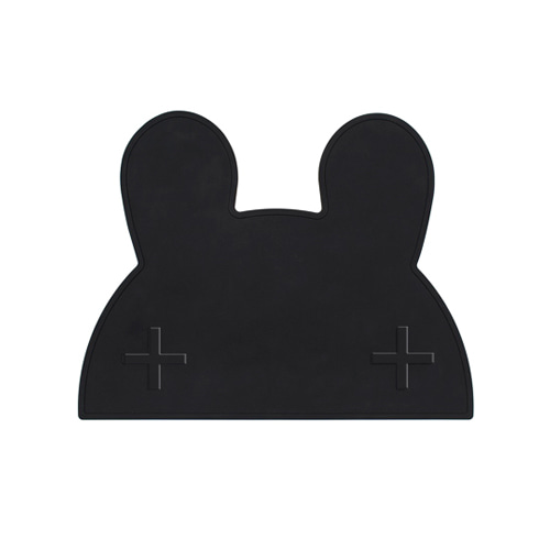 Sleepy Bunny Mat Black