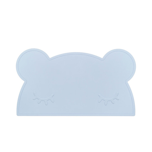 Sleepy Bear Mat Powder Blue