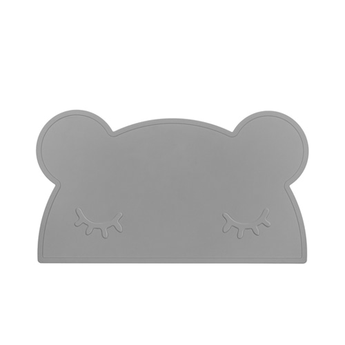 Sleepy Bear Mat Grey