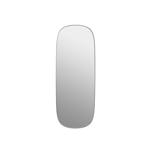 무토 프레임 미러 Framed Mirror Large Grey/Clear Glass