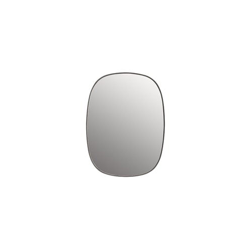 무토 프레임 미러 Framed Mirror Small Grey/Clear Glass
