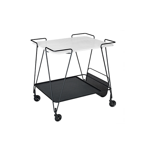 Mategot Trolley White Cloud