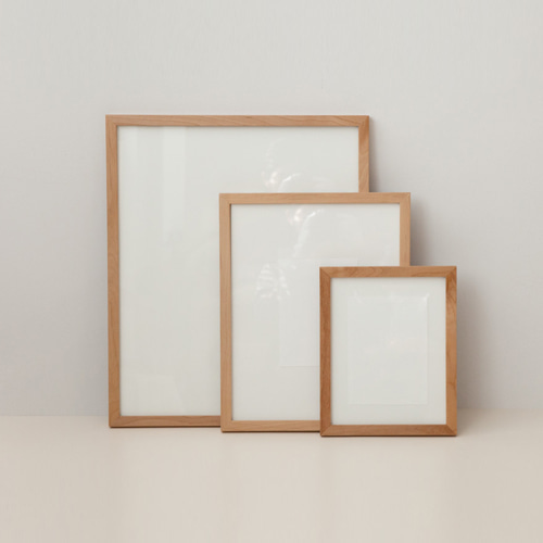Alder Wood Frame 3sizes