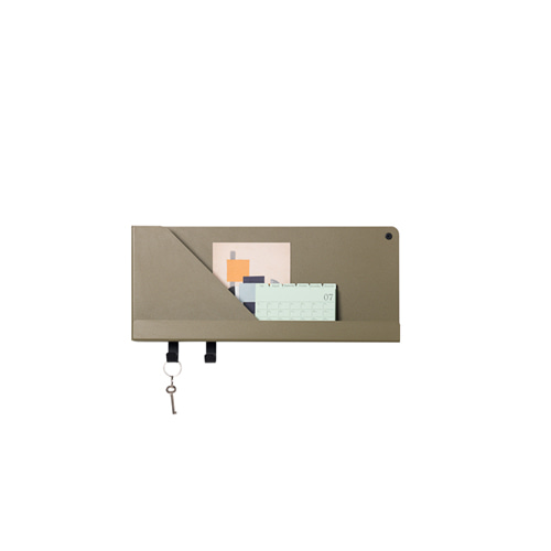 무토 폴디드 선반 Folded Shelves Olive 3sizes