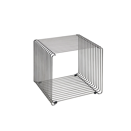 몬타나 팬톤와이어 Panton Wire Black Chrome Cube by Verner Panton