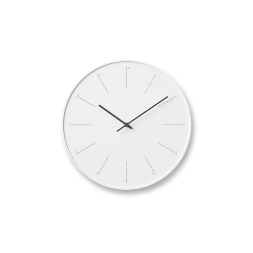 Divide Clock White