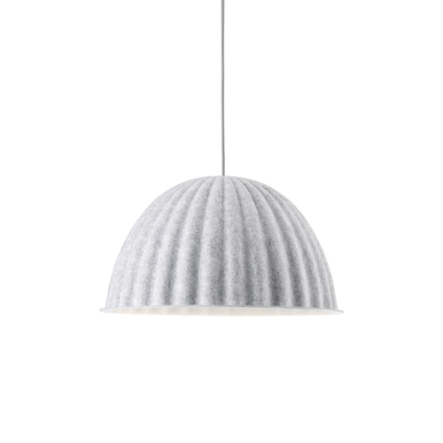무토 언더더벨 펜던트 램프 Under The Bell Pendant Lamp ∅55 White Melange