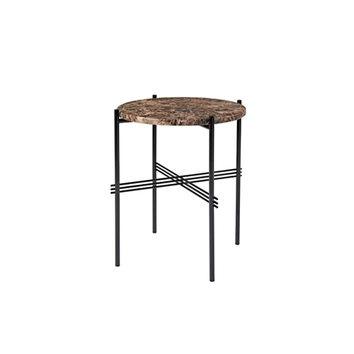 TS Table ∅40 Marble Brown/Black
