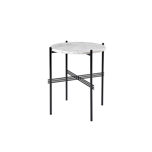 TS Table ∅40 Marble White/Black