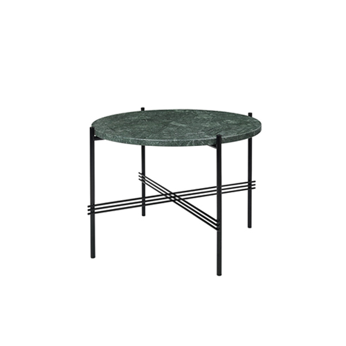 TS Table ∅55 Marble Green/Black