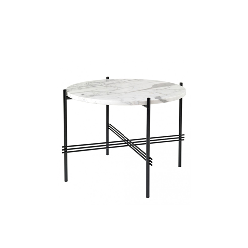 TS Table ∅55 Marble White/Black
