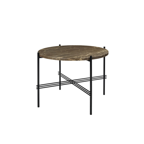TS Table ∅55 Marble Brown/Black