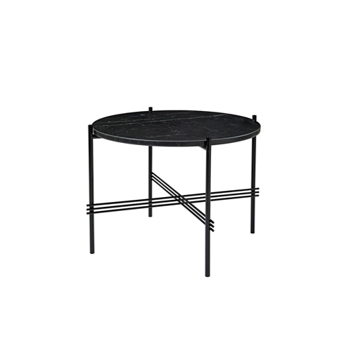 TS Table ∅55 Marble Black/Black