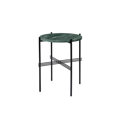 TS Table ∅40 Marble Green/Black