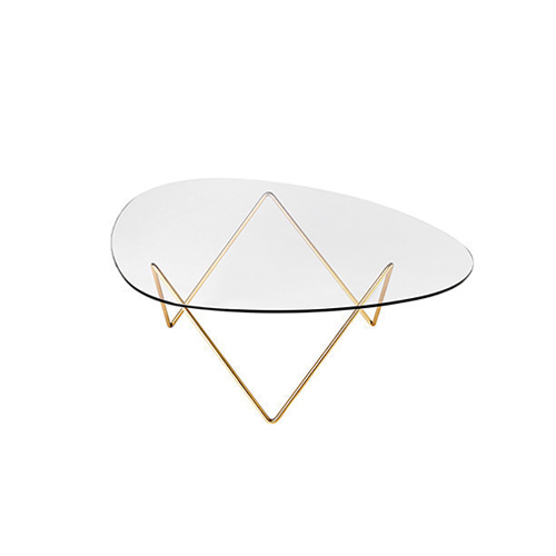 Pedrera Lounge Table Brass