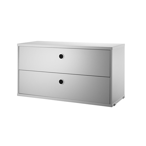 스트링 시스템 서랍 Chest with Drawers Grey, 2sizes