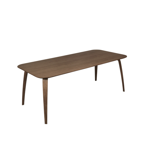 구비 다이닝 테이블Dining Table Rectangular100x200 Walnut