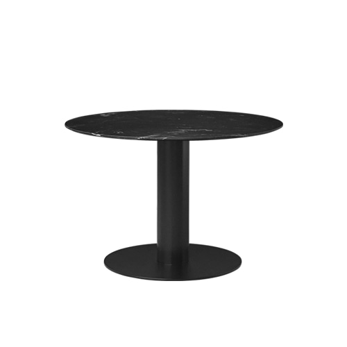 구비 2.0 다이닝 테이블2.0 Dining Table Round Black Marble 3size